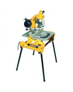 DeWalt DW743N tafel-afkort-verstekzaag / combinatiezaag / flipper - 250mm - 2000W DW743