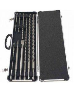 Makita D-21191 10-delige SDS Plus boren en beitel set