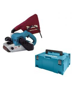 Makita 9403J 230V bandschuurmachine 100mm 1200W in Mbox