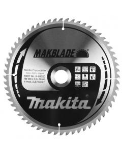 Makita B-09020 Zaagblad hout 260x30x2,3 60T LF1000