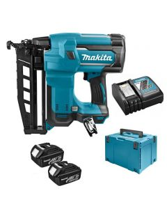Makita DBN600RFJ 18V Li-ion accu brad tacker set (2x3Ah accu) in MBox