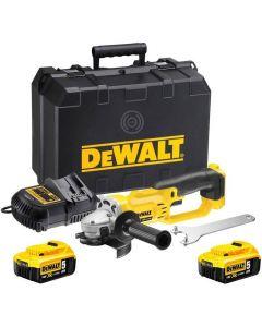 DeWalt DCG412P2 18V XR Li-Ion accu haakse slijper DCG412