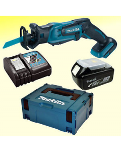 Makita DJR183RFJ 18V Li-ion accu reciprozaag set (2x3.0Ah) in Mbox