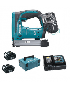 Makita DST221RFJ 18V Li-ion accu nietmachine set (2x 3.0Ah) in Mbox