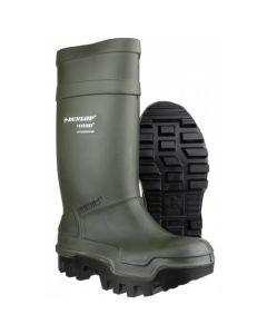 Dunlop werklaarzen C662933 groen Purofort Thermo S5
