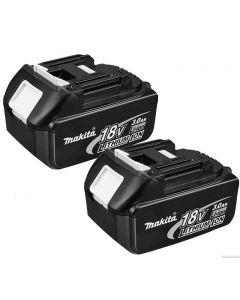 Makita BL1830 3.0 Ah 18 Volt Li-Ion accu Duopack (2 stuks)