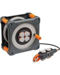 ProfessionalLINE Cube kabelhaspel 33+5m met powerblock IP44 H07RN-F 3G1,5