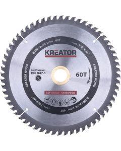 Kreator KRT020417 Cirkelzaagblad 190mm 60T - hout