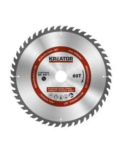 Kreator KRT020505 cirkelzaagblad 254mm 60T - aluminium / plastics