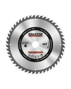 Kreator KRT020425 cirkelzaagblad 250mm 48T