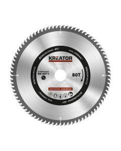 Kreator KRT020426 cirkelzaagblad 250mm 80T