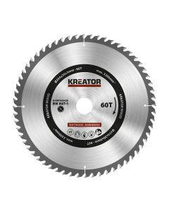 Kreator KRT020428 cirkelzaagblad 250mm 60T
