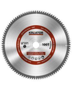Kreator KRT020506 cirkelzaagblad 305mm 100T - aluminium / plastics