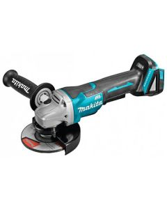Makita DGA508Z 18V Li-Ion Accu haakse slijper body - 125mm - koolborstelloos - softstart