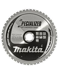 Makita B-17697 Specialized Cirkelzaagblad - 355 x 30 x 80T - Metaal - Sandwichpanelen
