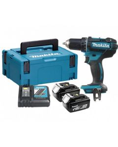 Makita DDF482RTJ schroefboormachine set (2x5Ah) in Mbox