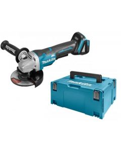 Makita DGA505ZJ 18V Li-Ion Accu haakse slijper body in Mbox - 125mm - koolborstelloos - softstart