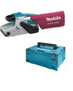 Makita 9404J 230V bandschuurmachine 100mm 1010W in Mbox