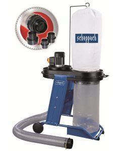 Scheppach HD12 houtspaanafvoer