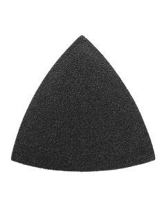 Multitool schuurpapier driehoek P80 - synth. hars - 20 stuks