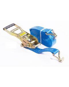 Spanband 50 mm. 5 ton 9M Blauw Korte hendel