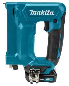 Makita ST113DSAJ 12 V Max Nietmachine 2,0 ah accu (2 st), lader, in mbox